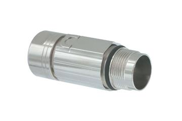 Standard connector, series 617, M17 signal coupling