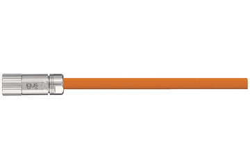 readycable® servo cable acc. to Baumüller standard 324781 (5 m), 15 A base cable, PVC 10 x d