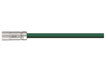 readycable® servo cable acc. to Baumüller standard 324783 (10 m), 15 A base cable, PVC 7.5 x d