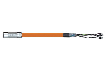 readycable® motor cable acc. to Parker standard iMOK45, base cable PVC 15 x d