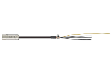 readycable® power cable acc. to Siemens standard 6FX_002-5CG62, base cable, PVC 7.5 x d
