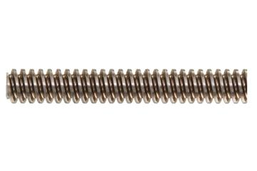 drylin® trapezoidal lead screw, left-hand thread, two start, stainless steel