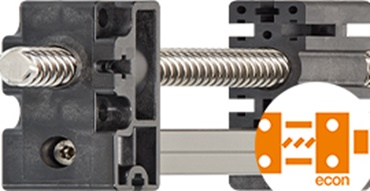 Cost-effective linear modules with toothed belt drive