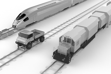 Special rail vehicle applications